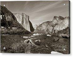 Acrylic Print featuring the photograph El Capitan by Joseph G Holland