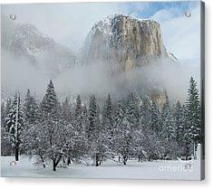 Acrylic Print featuring the photograph El Capitan Majesty - Yosemite Np by Sandra Bronstein