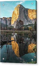 El Capitan Sunset Acrylic Print