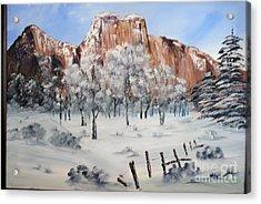 El Capitan West Face Yosemite National Park Acrylic Print