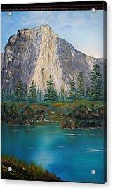 El Capitan Yosemite National Park Ca. Acrylic Print