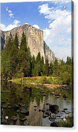 El Capitan Yosemite National Park California Acrylic Print
