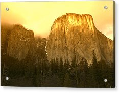 El Capitan Yosemite Valley Acrylic Print