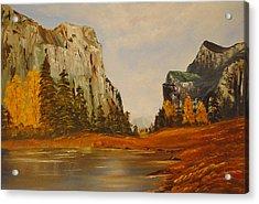 El Capitan Yosemite Valley Acrylic Print by James Higgins