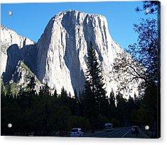 El Capitan Yosemite Acrylic Print by Vijay Sharon Govender