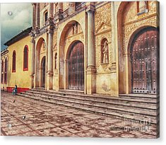 Acrylic Print featuring the photograph El Centro by Charles McKelroy