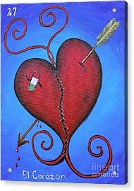 El Corazon Acrylic Print