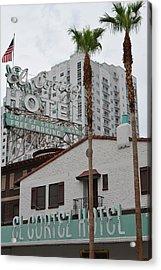 El Cortez Hotel Las Vegas Acrylic Print