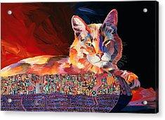 El Gato Sonata Acrylic Print