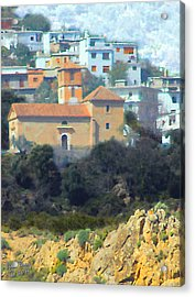 El Golco Church Acrylic Print by John Bray
