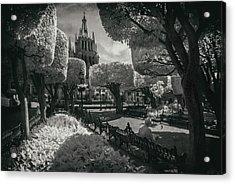 el Jardin Acrylic Print by Sean Foster