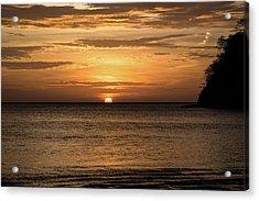 El Jobo Sunset Acrylic Print by Michael Santos