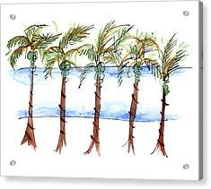 El Malecon Puerto Vallarta Acrylic Print