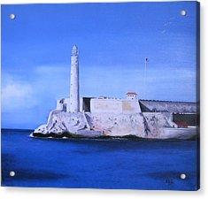 El Morro Havana Cuba Acrylic Print