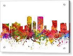 El Paso Cityscape 08 Acrylic Print