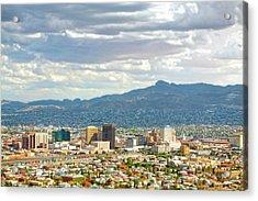 El Paso Texas Downtown View Acrylic Print