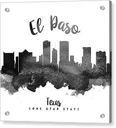 El Paso Texas Skyline 18 Acrylic Print