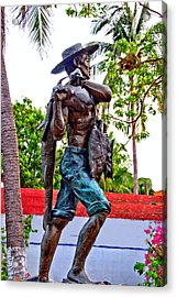 El Pescador Acrylic Print by Jim Walls PhotoArtist