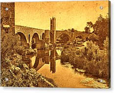 El Pont Viel Acrylic Print