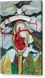 El Reflejo Acrylic Print