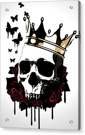 El Rey De La Muerte Acrylic Print by Nicklas Gustafsson