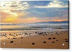 Acrylic Print featuring the photograph El Segundo Beach by April Reppucci