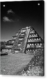 El Tajin Pyramid Veracruz Mexico Acrylic Print
