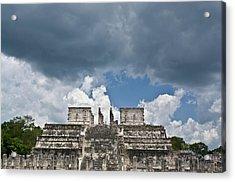 El Templo De Las Columnas  1 Acrylic Print