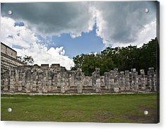 El Templo De Las Columnas  Acrylic Print