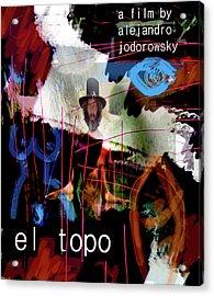 El Topo Film Poster  Acrylic Print
