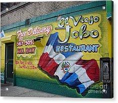 El Viejo Jobo  Acrylic Print by Cole Thompson