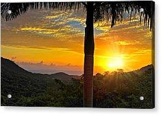 El Yunque Mountain Sunrise Acrylic Print