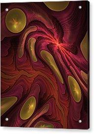 Elaine's Lava Flow Acrylic Print
