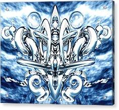 Elation Acrylic Print by Dreamlight  Creations