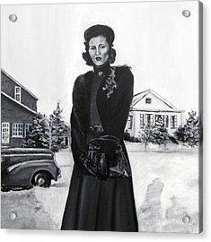 Elda Acrylic Print by Natalie Mae Richards
