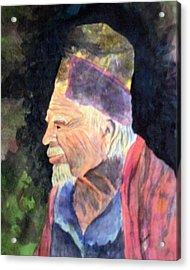 Elder Acrylic Print by Susan Kubes