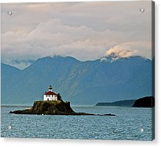 Eldred Rock Lighthouse Skagway Acrylic Print