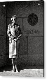 Eleanor Roosevelt Sculpture  Acrylic Print