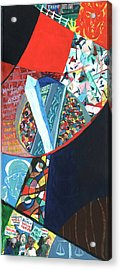 Election Of Outsiders 2016 Acrylic Print