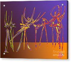 Electric Ballet Acrylic Print