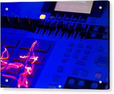 Electric Beats Acrylic Print by Michael Wilcox