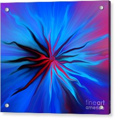 Electric Blue 2 Acrylic Print