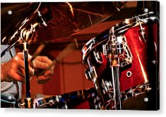 Electric Drums Acrylic Print