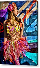 Electric Fantasy Acrylic Print