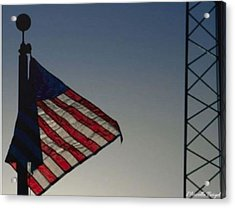 Electric Flag Acrylic Print