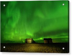 Electric Green Skies Acrylic Print