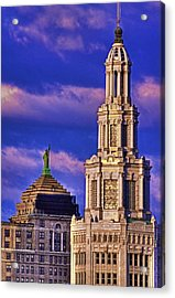 Electric Liberty Acrylic Print