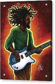 Electric Acrylic Print by Marcus Anderson