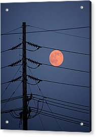 Electric Moon Acrylic Print