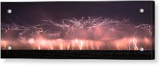 Electric Panoramic Acrylic Print